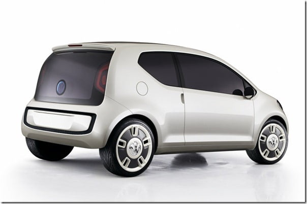 Volkswagen Up Small Car Launch In Paris In August 2011- May Come To India