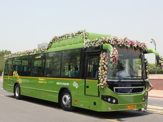 DTC Delhi May Use Volvo Air-conditioned Buses Running On CNG For Public Transport