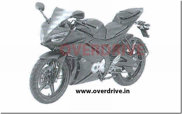 Yamaha R15 Leaked Pictures Revealed- Launch Expected Soon