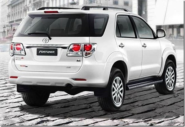 new facelift toyota fortuner suv model launched in thailand u2013 india launch soon