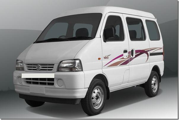 Maruti Eeco điện MPV aka Suzuki Mỗi Ra mắt tại Nhật On Trial Cơ sởMaruti Eeco