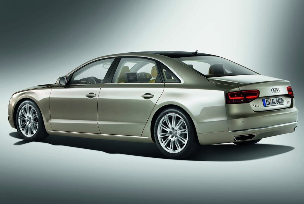 Audi A8 L Top Of The Line With 12 Cylinder Engine Launched In India