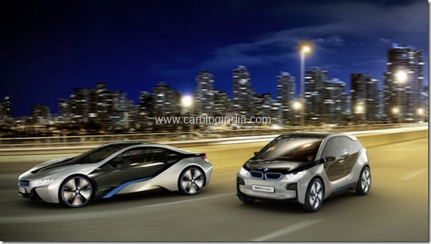 BMW i3 and i8 Electric Cars Concept World Showcase–Pictures and Details