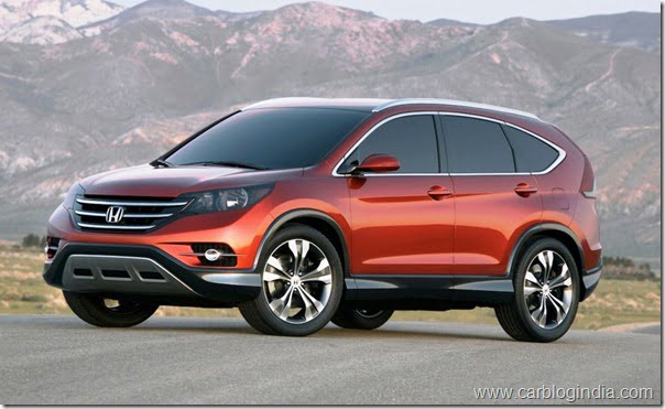 Honda CRV 2012 New Model Picture Released- Official Details
