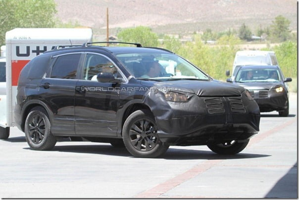 Honda CRV 2012 Spy Pictures (1)