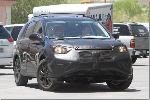 Honda CRV 2012 Spy Pictures (2)
