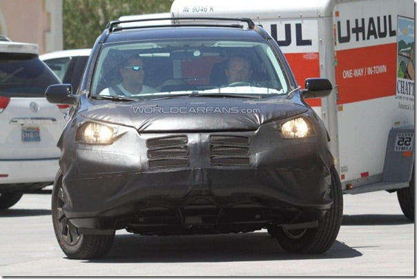 Honda CRV 2012 Spy Pictures (3)