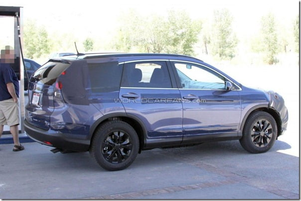 Honda CRV 2012 Spy Pictures (5)