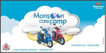 Mahindra 2 Wheeler's Mosoon Camp