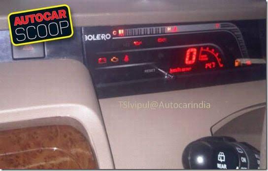 Mahindra Bolero MPV New Model 2011 Spy Pictures Leaked