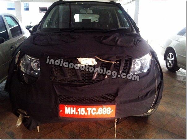 Mahindra W201 Front