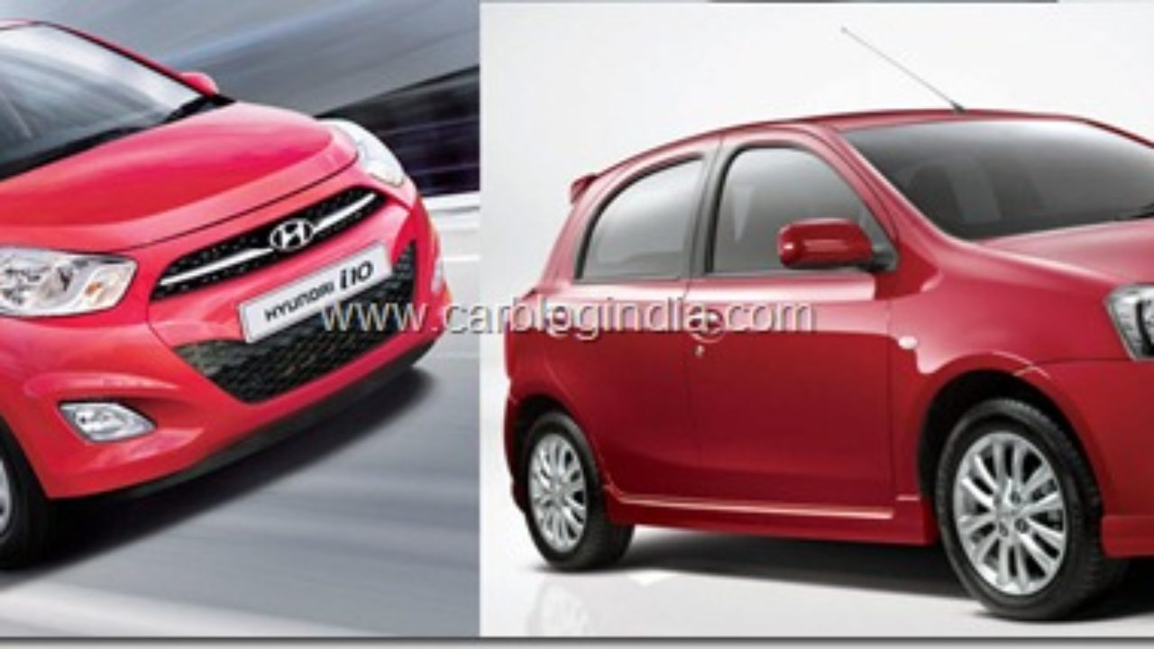 I 10 Toyota >> Toyota Etios Liva Vs Hyundai I10 Kappa Which Is Better And