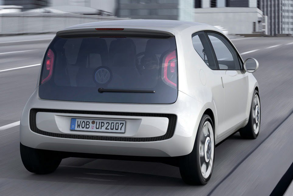 Volkswagen Up Small Concept Car India Launch By 2012