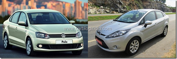 Ford Fiesta 2011 Petrol Vs Volkswagen Vento Petrol – Which Is Better and Why?
