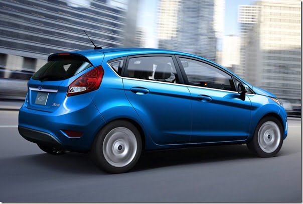 2011 Ford Fiesta Hatchback Spied In Chennai, India Launch Expected During 2012