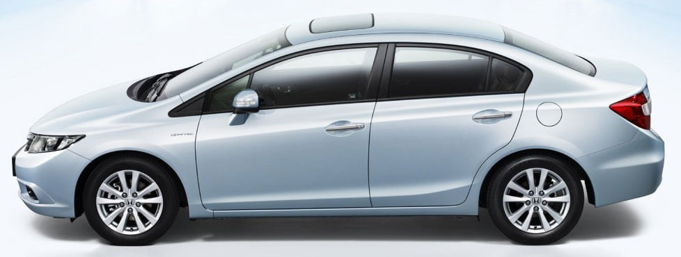 Comparison between honda civic 2012 new model and old civic for Different honda civic models