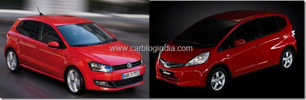 Honda-jazz-2011-vs-volkswagen-polo