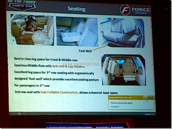 force 1 seats