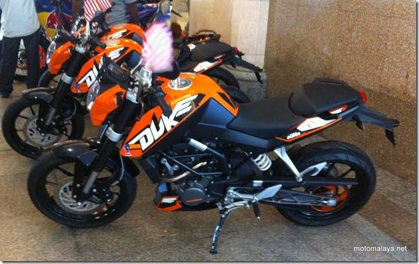 ktm duke 200- 2011 model