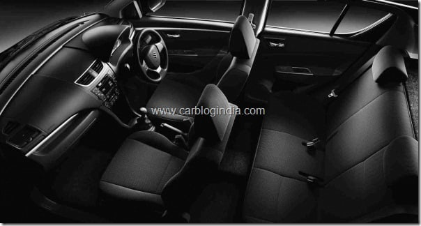 maruti swift 2011 interiors