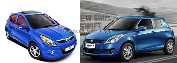 maruti-swift-2011-vs-hyundai-i20
