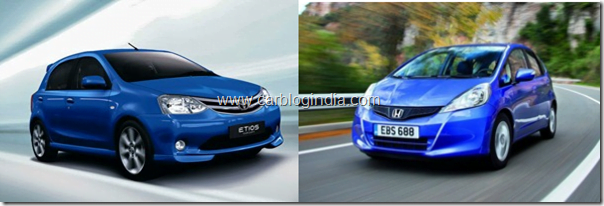 Honda Jazz 2011 Vs Toyota Etios Liva– Which Is Better And Why?
