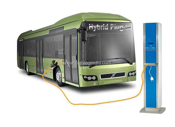 volvo plug in hybrid bus