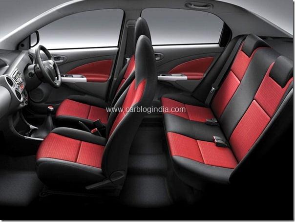 Etios Diesel Interiors