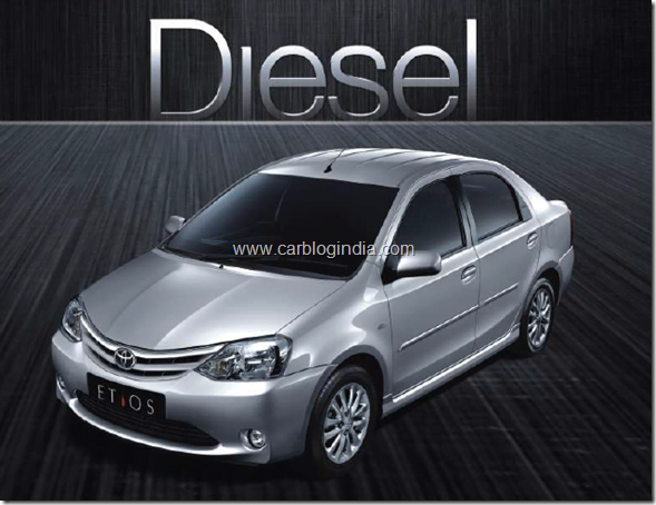 Toyota Etios Diesel And Liva Diesel Detailed Specs