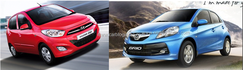 Confused B/w Honda Brio and Hyundai i10?- Detailed Comparison