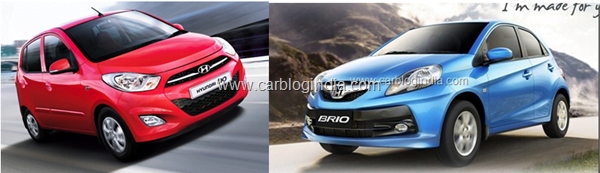 Honda Brio Vs Hyundai i10– Which Is Better And Why?