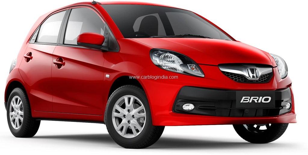 Honda Brio Car Price In India