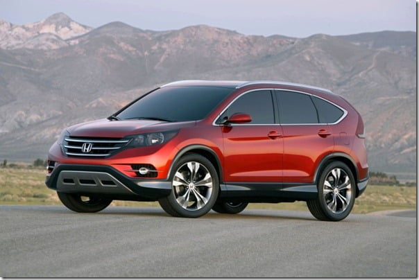 Honda CRV 2012 Official Pictures (1)