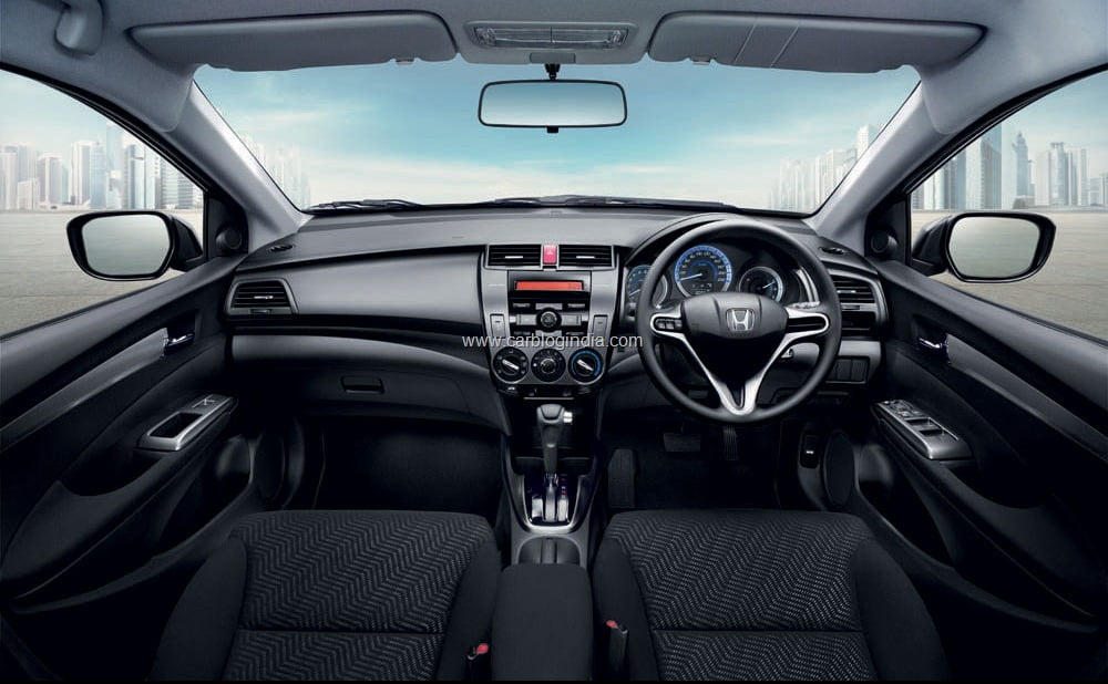 What is new in new honda city 2011 india features price for Image city interiors