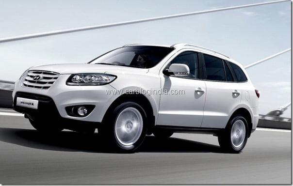 Hyundai Santa Fe Automatic India Details (2)