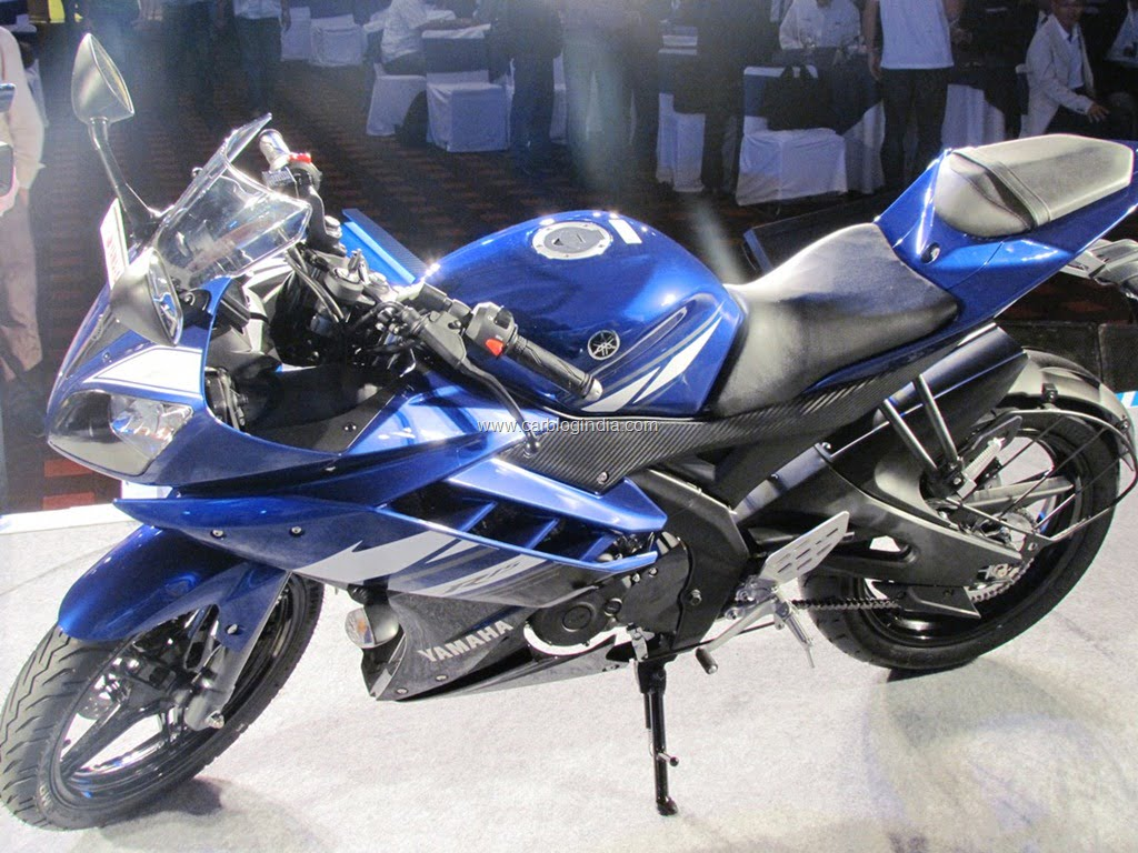 Yamaha R15 Version 2 0 New Model Compared With Old Model