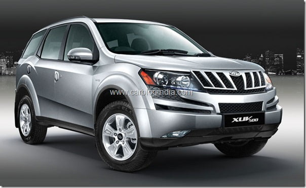 Mahindra XUV500 Official Pictures (2)