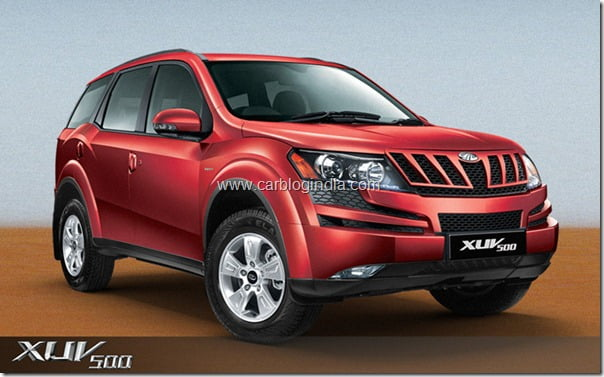 Mahindra XUV500 Official Pictures (5)