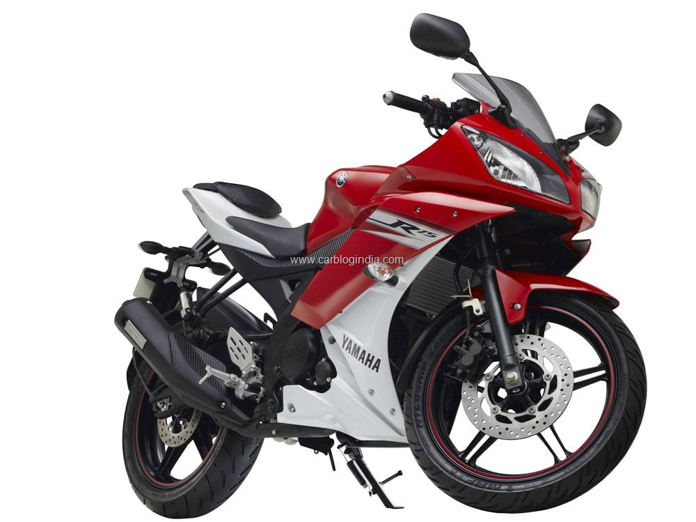 New Model Yamaha R15 2011 Launched Rs 1 07 Lakhs Price