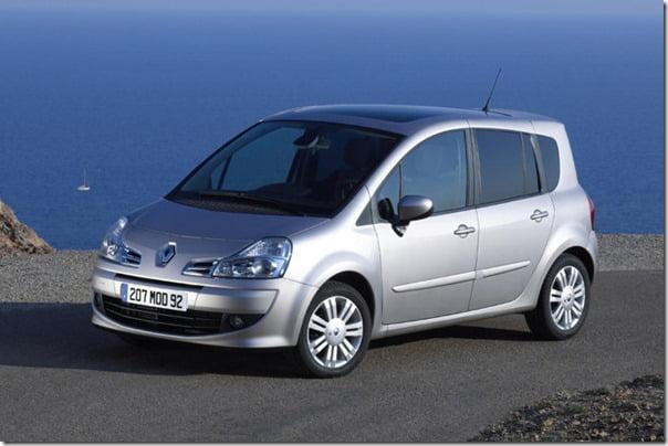 Renault Modus Front