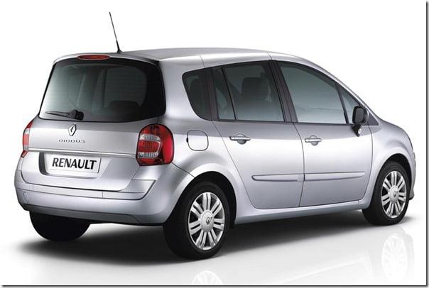 Renault Modus Rear