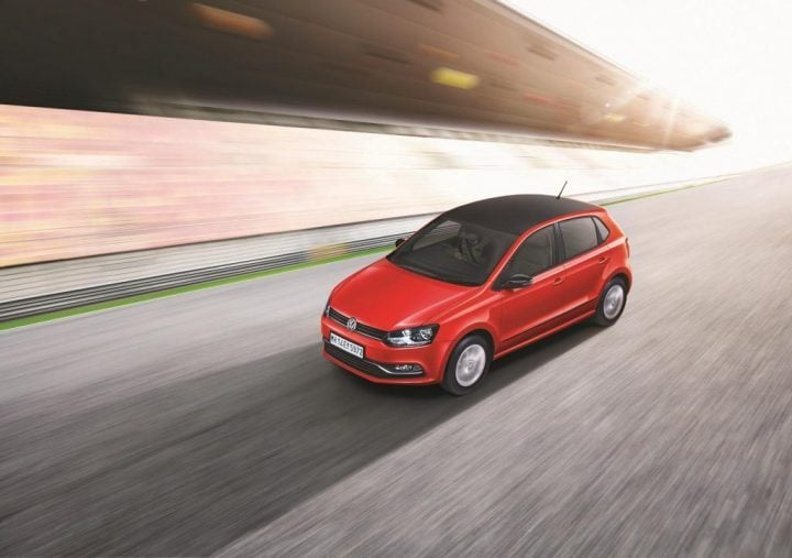 Volkswagen Polo Select, Volkswagen Celeste special edition-Official-Photo-Action-Images