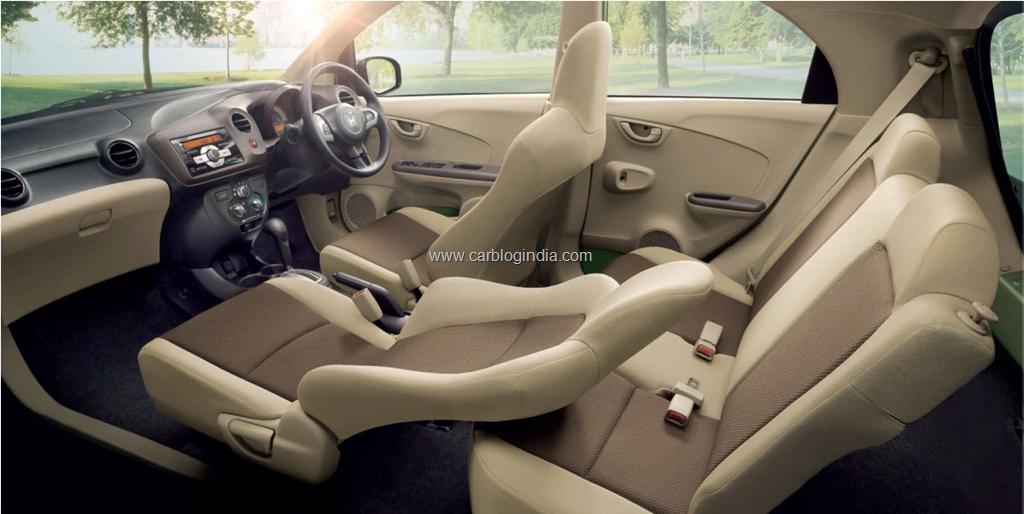 Honda Brio Interiors India