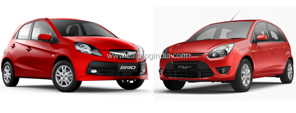 Honda Brio Vs Ford Figo Petrol– Which Is Better And Why?
