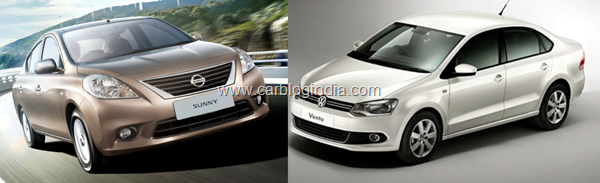 Nissan Sunny Petrol Vs Volkswagen Vento Petrol- Which Is Better And Why?