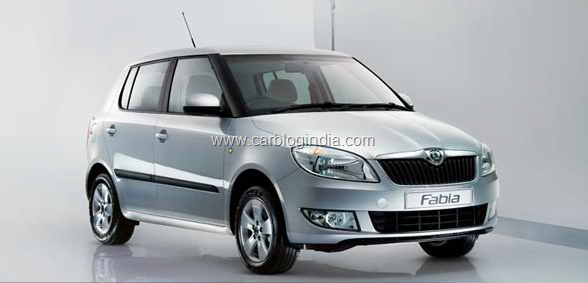 skoda fabia active ambition and elegance new models official price list. Black Bedroom Furniture Sets. Home Design Ideas