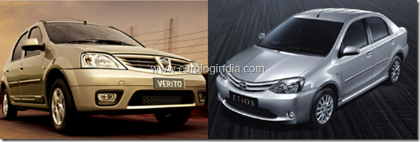 Toyota Etios Diesel Vs Mahindra Verito Diesel- Which Is Better Sedan And Why?