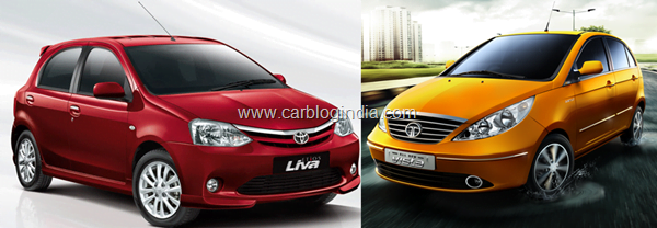 Toyota Etios Liva Diesel Vs Tata Indica Vista Diesel- Which Is Better and Why?