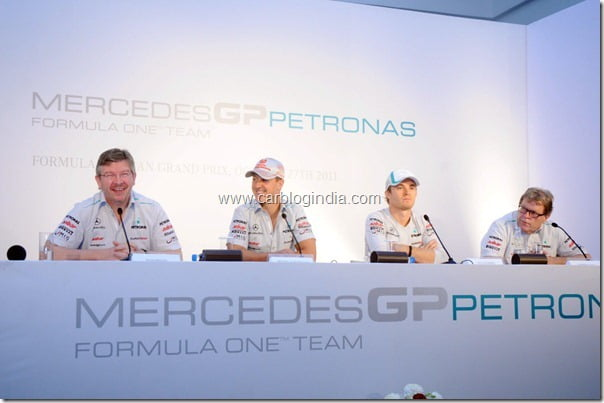 Michael Schumacher Announced Mercedes GP Package For Indian F1 GP