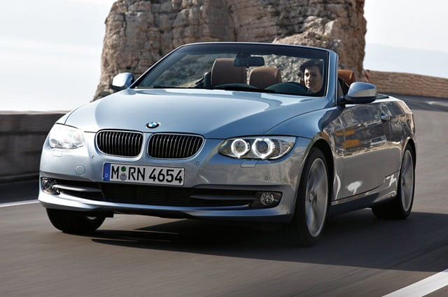 BMW Series Convertible D Launch In India Soon - Bmw 3 series 2011 price